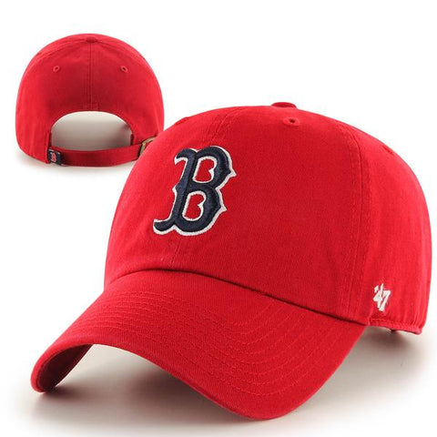 Kids Clean-Up Red Adjustable Hat