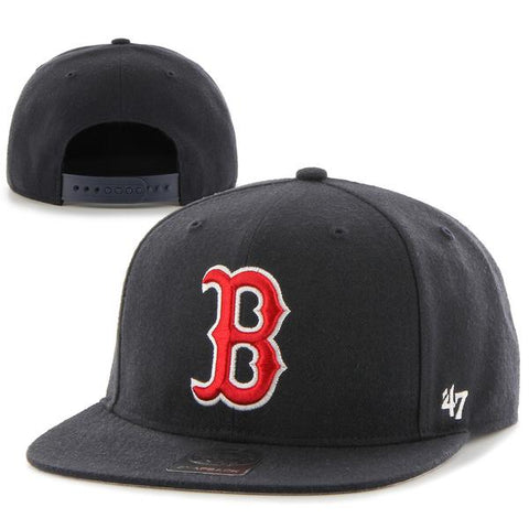 Boston Red Sox Snapback Navy No Shot Adjustable Hat