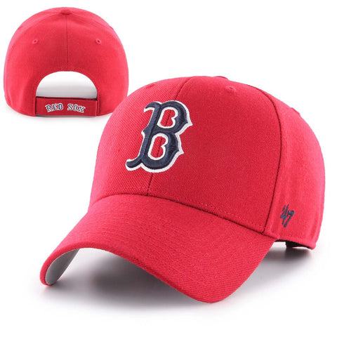 Boston Red Sox Red MVP Adjustable Hat