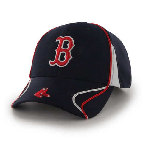 Boston Red Sox Navy Vortex MVP Adjustable Hat