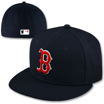 Boston Red Sox New Era Official Navy On Field Cap
