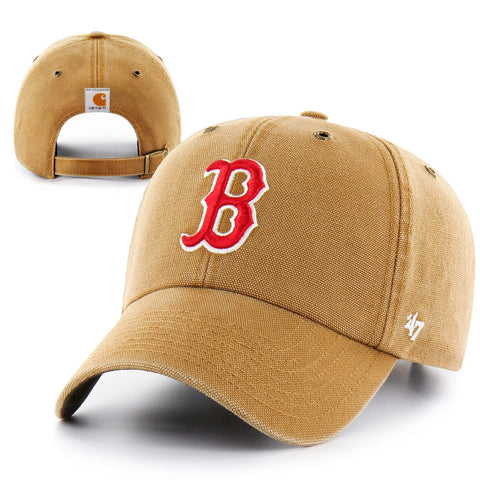 Boston Red Sox Clean-Up Brown Carhartt Lansdowne Cap