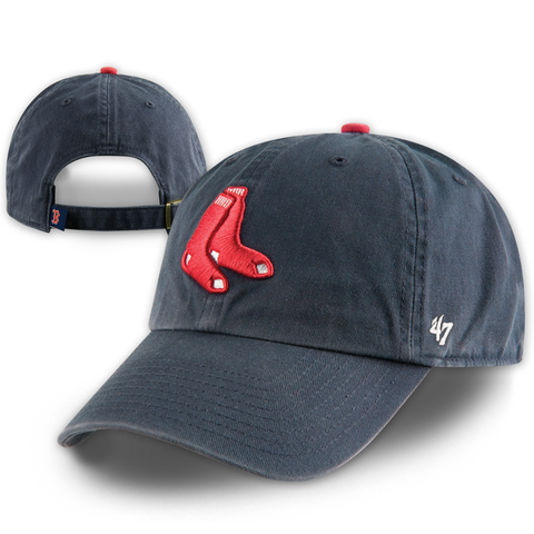 Boston Red Sox Clean-Up 2 Sox Alternate Adjustable Hat