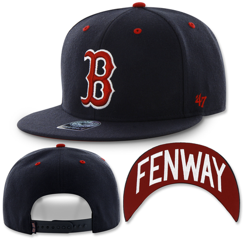 Boston Red Sox Snapback Fenway Park Oath Script Adjustable Hat
