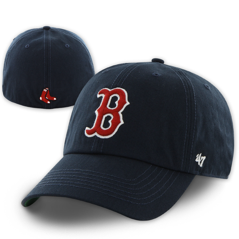 Boston Red Sox Dark Navy Franchise Fitted Hat