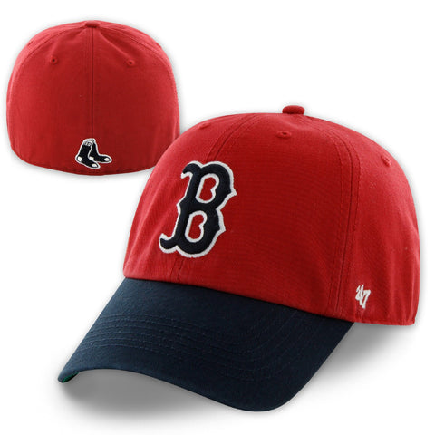 Boston Red Sox Franchise Red/Navy Fitted Hat