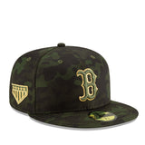 Boston Red Sox 2019 Armed Forces Day Onfield New Era Cap