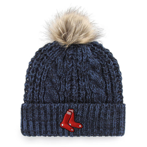 Boston Red Sox Ladies Navy Meeko Knit Hat
