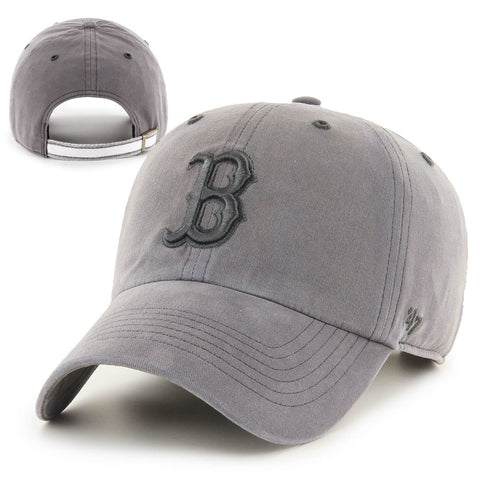 Boston Red Sox Clean-Up Barnacle Grey Boathouse Adjustable Hat