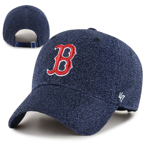 Boston Red Sox Womens Clean-Up Encore Navy Adjustable Cap