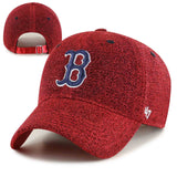 Boston Red Sox Womens Clean-Up Encore Red Adjustable Cap