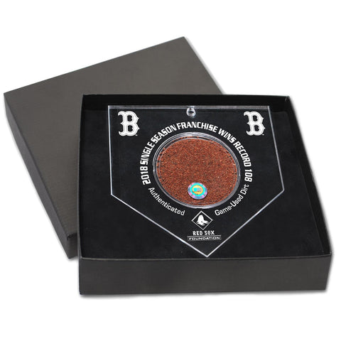Boston Red Sox 2018 Single Season Record Dirt Ornament