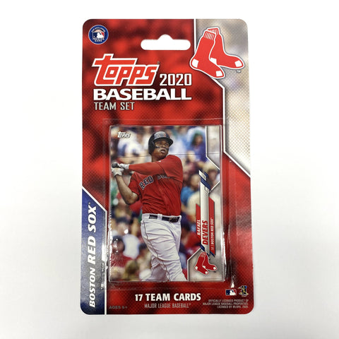 Boston Red Sox 2020 Team Set