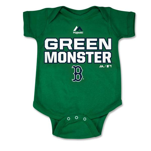 Newborn Fenway Park Green Monster Creeper