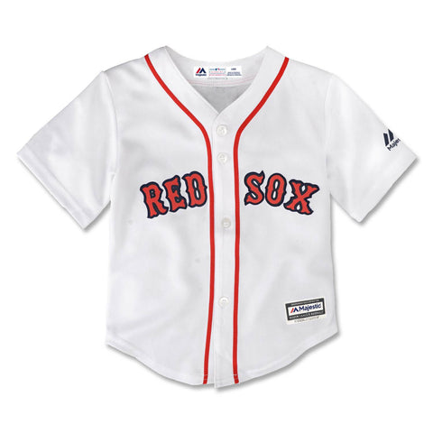 Boston Red Sox Toddler Home Blank Replica Jersey