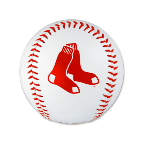 Boston Red Sox 2 Sox Logo Baseball