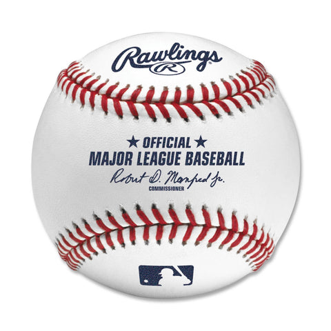 Official MLB Baseball with Cube Case