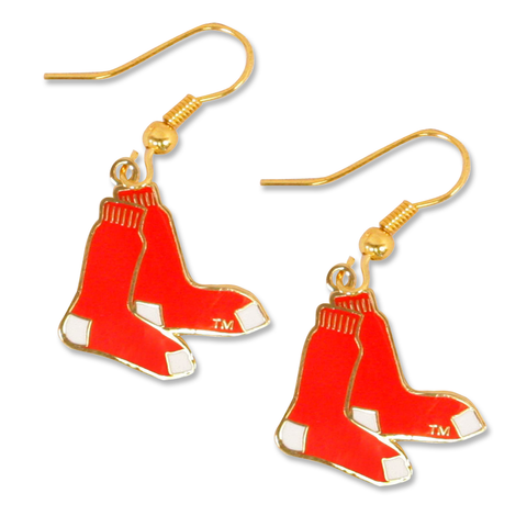 Boston Red Sox 2 Sox Dangle Earrings