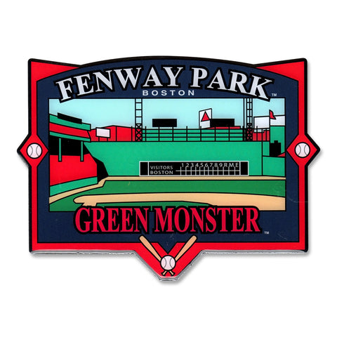 Boston Red Sox Green Monster Field View Magnet