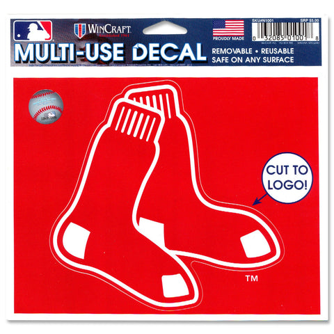 Boston Red Sox 2 Sox Logo Ultra Decal