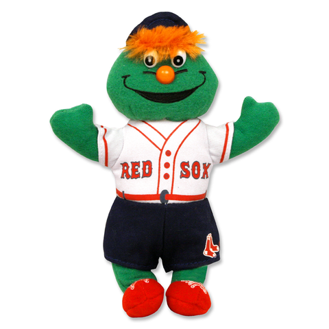 Wally the Green Monster Small Bean Bag Doll