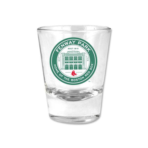 Fenway Park Coin Logo Shot Glass