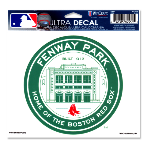 Boston Red Sox Fenway Park Coin Logo Ultra Decal