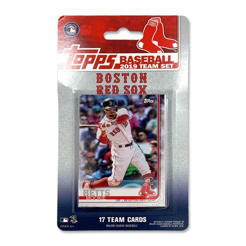 Boston Red Sox 2019 Team Set