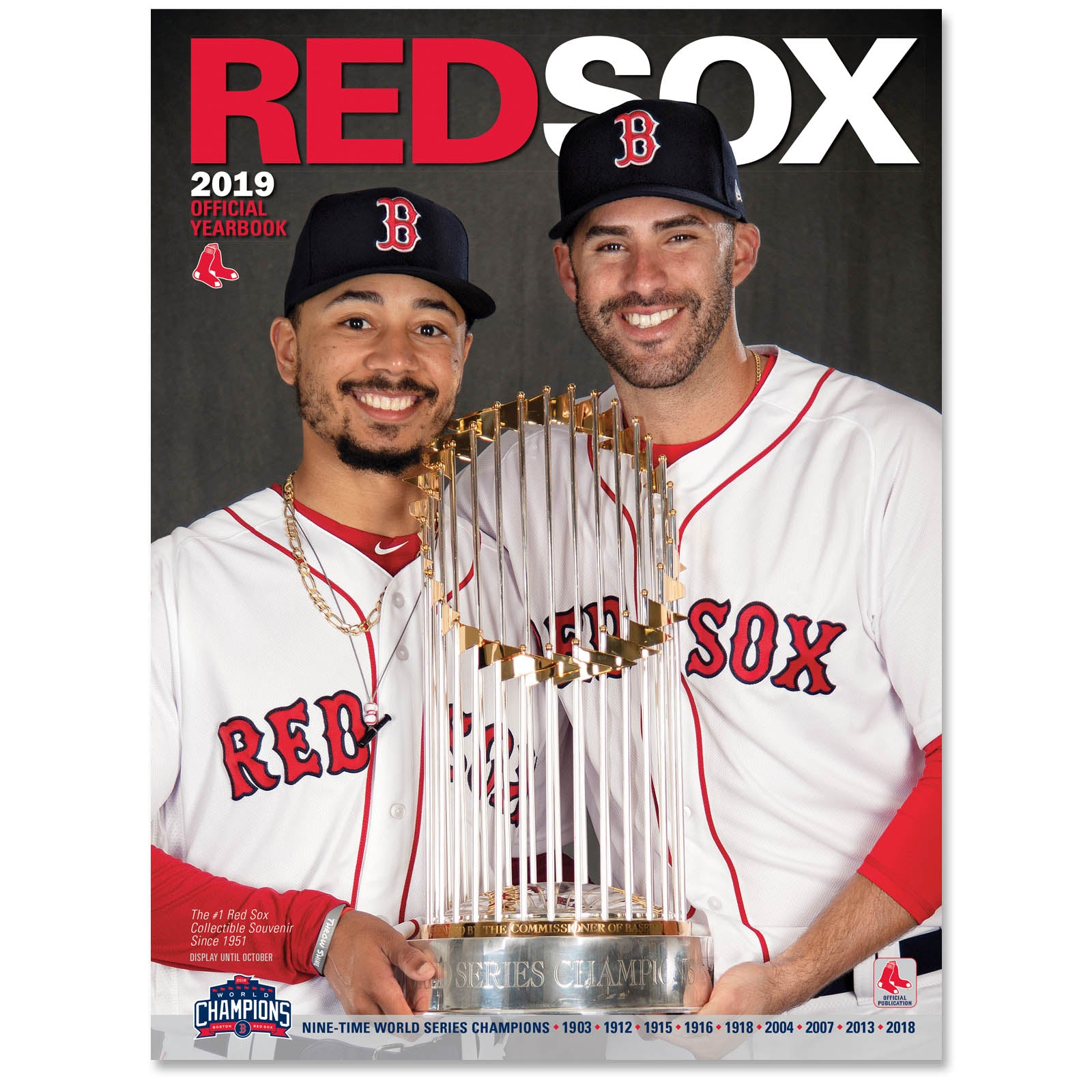 e92105626 Boston Red Sox 2019 Yearbook