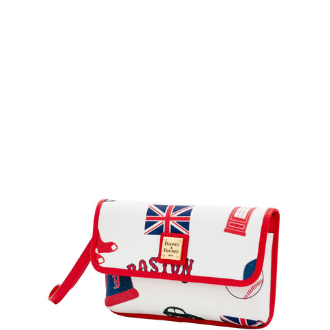 Boston Red Sox London Dooney & Bourke Milly Wristlet
