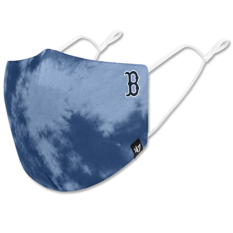 Boston Red Sox 47 Blue Raz Tie Dye Face Mask