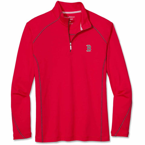 Boston Red Sox Tommy Bahama Home Run 1/2 Zip