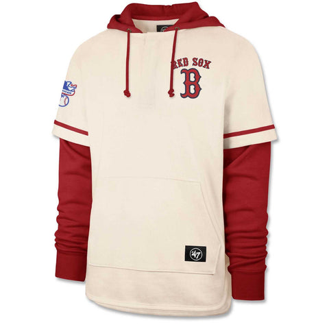 Boston Red Sox Cream/Red Shortstop Hood