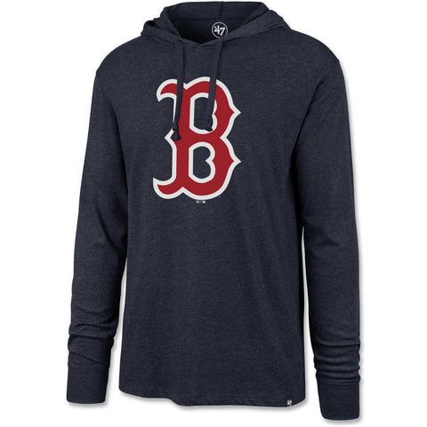 Boston Red Sox Navy Hooded Club Long Sleeve