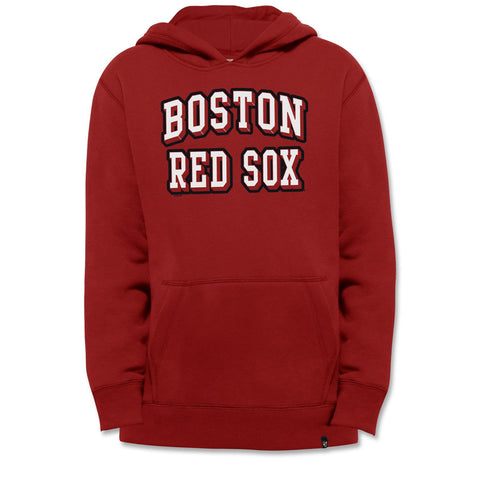 Boston Red Sox Kids RED Pop Fly Hood