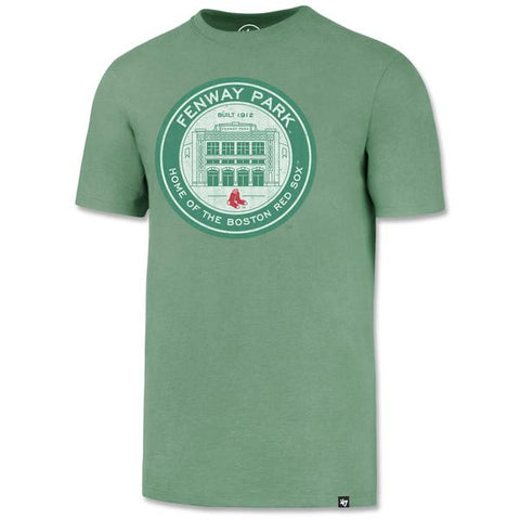 Fenway Park Coin Logo Green Garment Washed T-Shirt