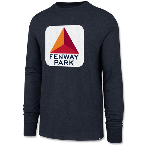Boston Red Sox Citgo Navy Long Sleeve Shirt