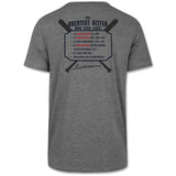 Boston Red Sox Grey Ted Williams 2-Sided MVP T-Shirt