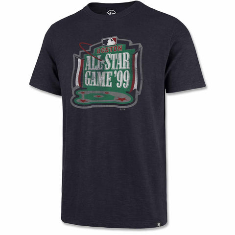 Boston Red Sox Navy 1999 ASG Grit Scrum Tee