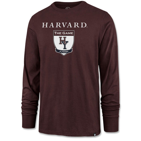 The Game Long Sleeve Shirt - Maroon
