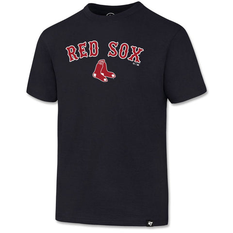 Boston Red Sox Kids Navy Tackle T-Shirt