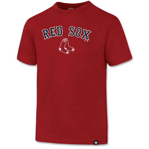 Boston Red Sox Kids RED Tackle T-Shirt