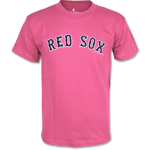 Boston Red Sox Kids Pink Arch T-Shirt