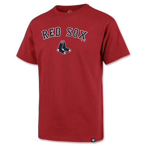 Boston Red Sox Kids RED Tackle Poly Shirt