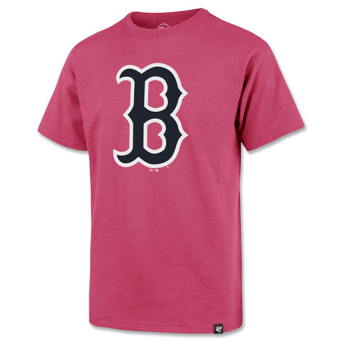 Boston Red Sox Kids PINK Poly Shirt