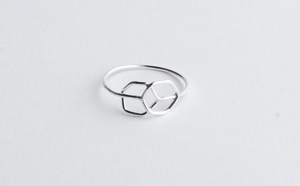 Hexagone Fusion Ring