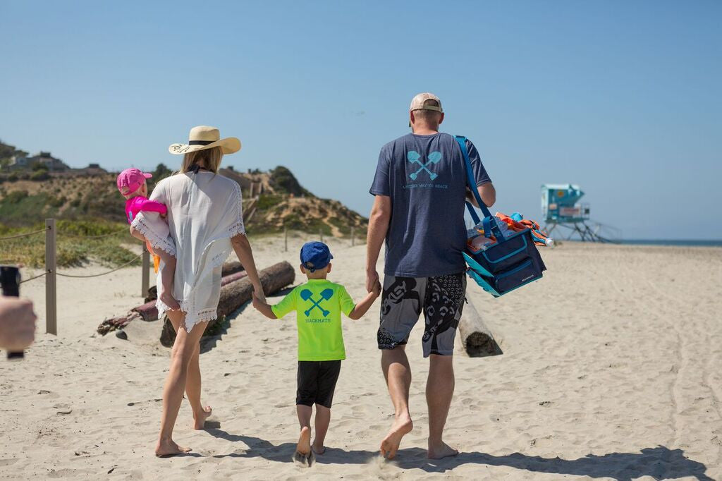 Leucadia beaches are fabulous for families!