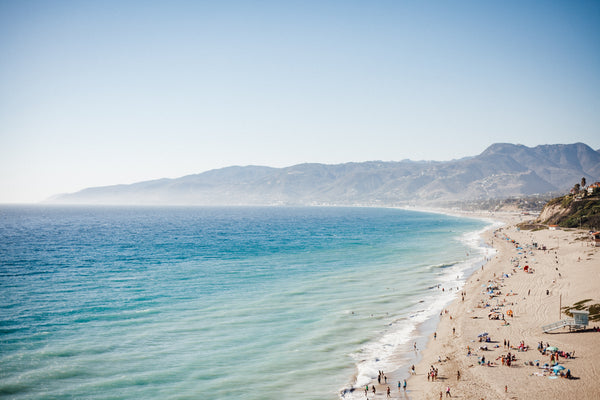Malibu's Zuma Beach has something for everyone, and is the perfect place to take your Beachmate!