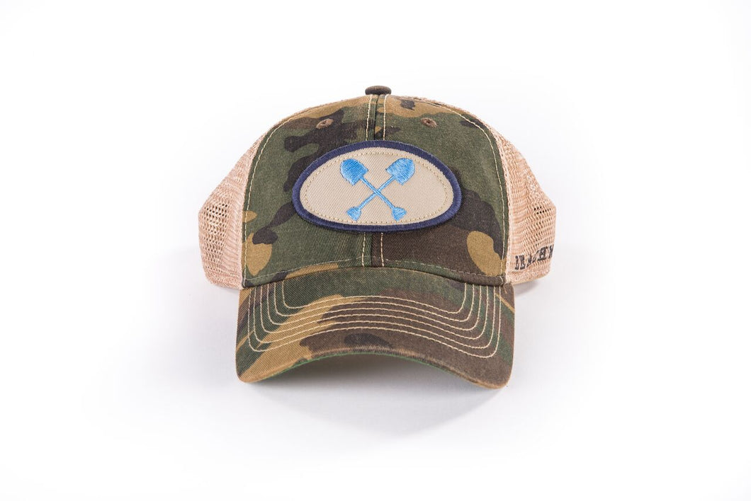 Adult Camo Trucker Hat