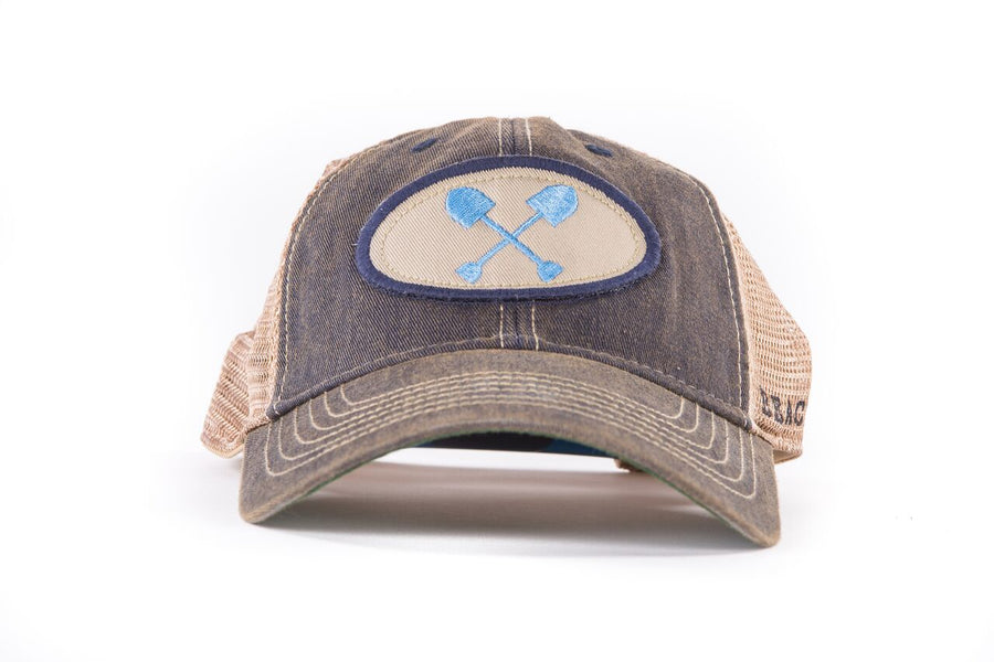 Adult Navy Trucker Hat